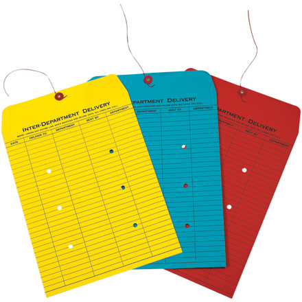 Colored Inter-Department Envelopes